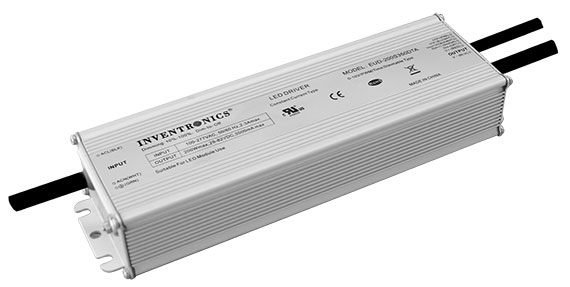 Flexible, 200 watt LED drivers