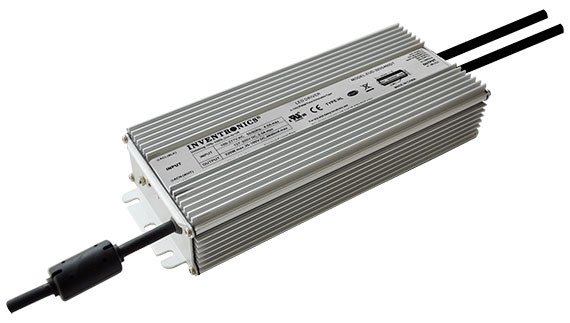 IP67 320 watt outdoor LED drivers ideal for high mast, sports and airport lighting