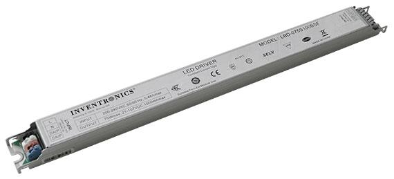 narrow input, controls ready 75 watt DALI LED Drivers
