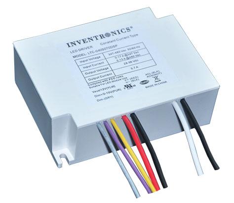 312-528Vac IP66 indoor LED drivers