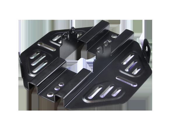 bottom bracket for LED bay lighting applications