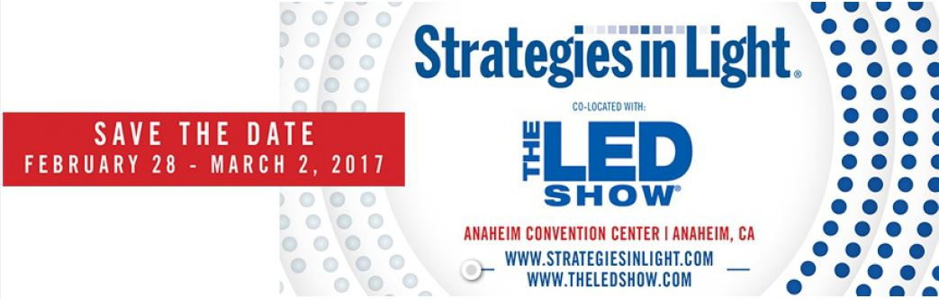 Strategies in Light 2017 Save the Date