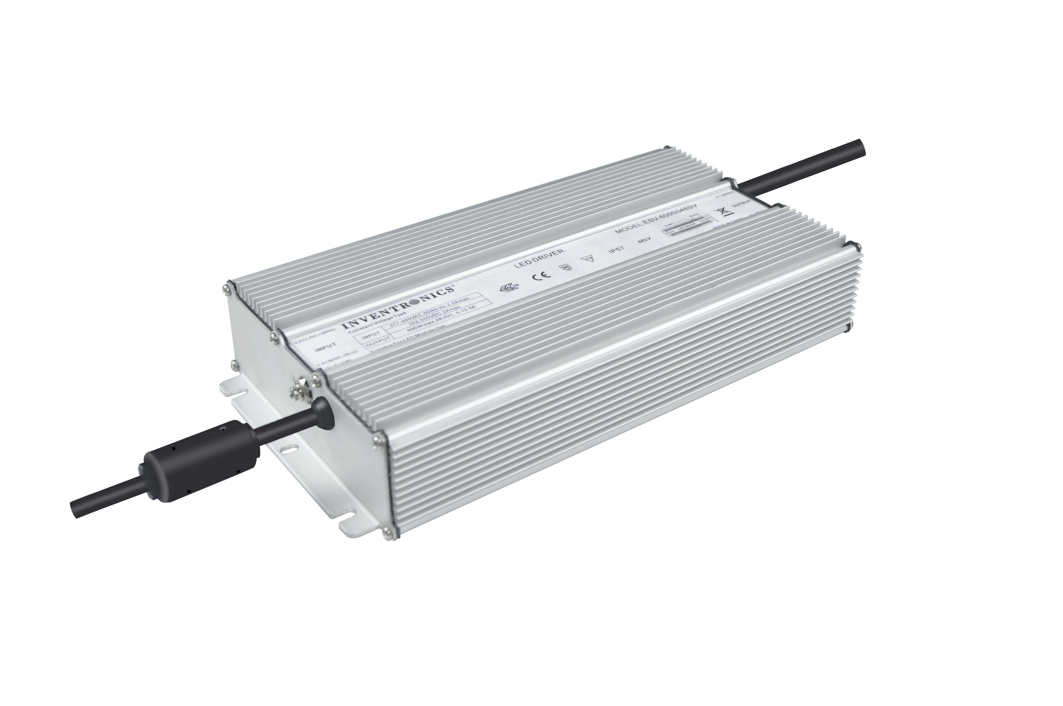 ESV-600 IP67 Constant-Voltage LED drivers