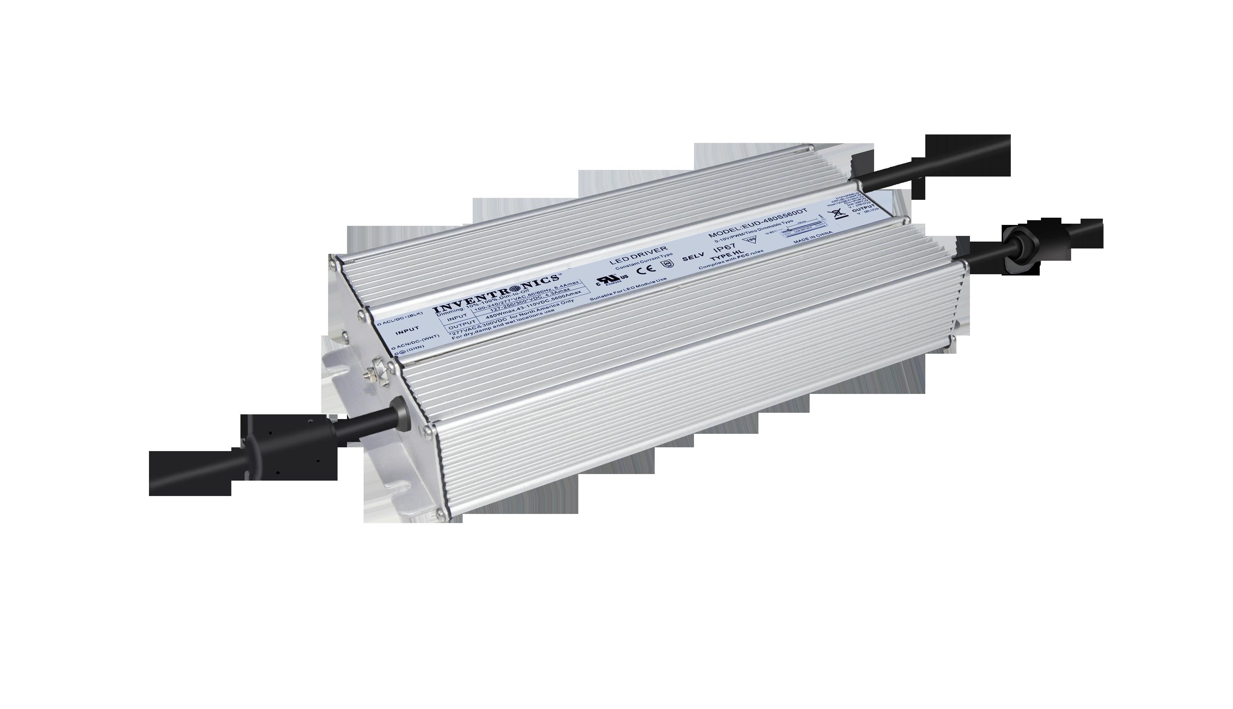 480 Watt Programmable LED Drivers