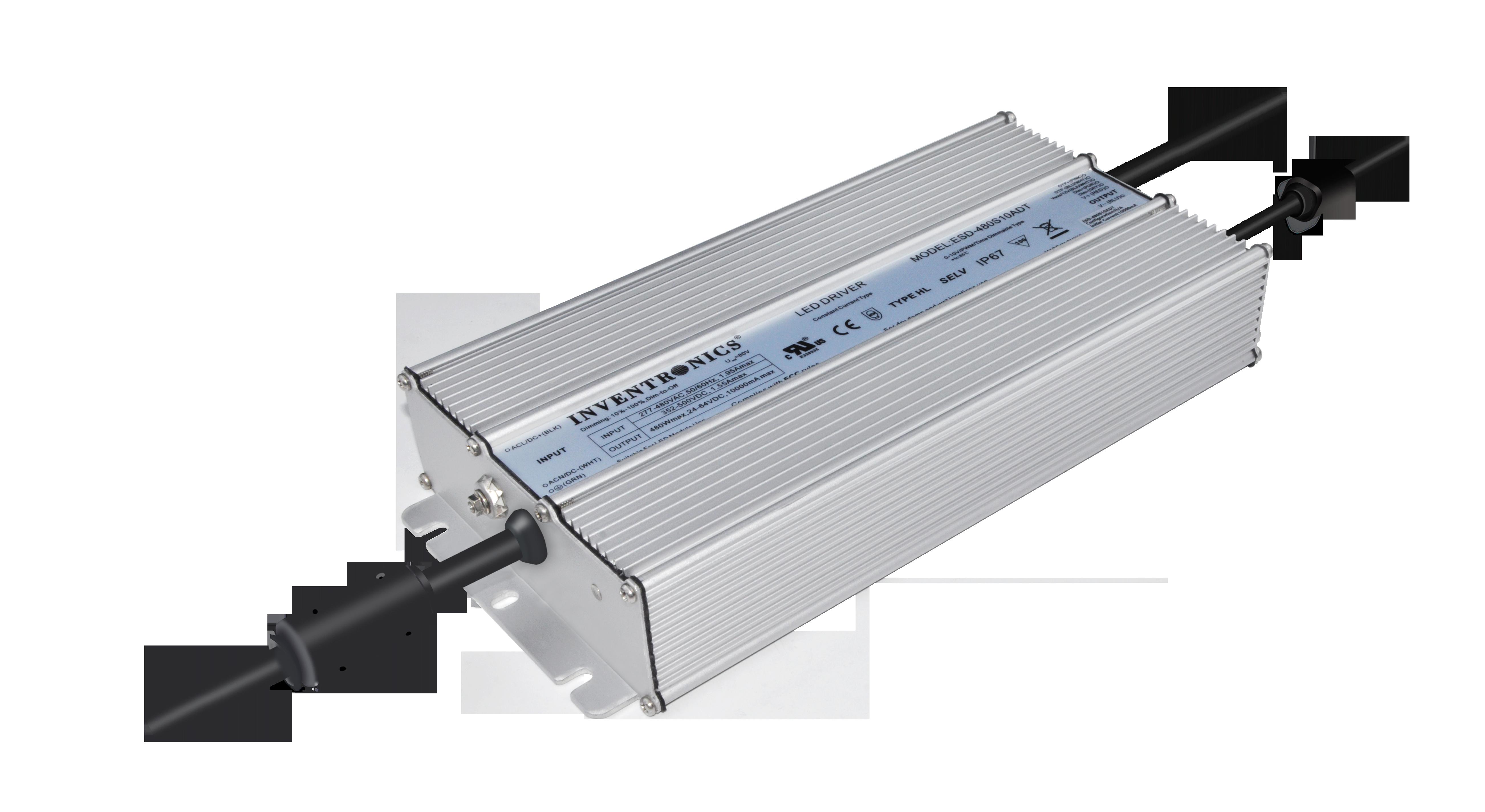 ESD-480SxxxDT high input voltage, controls ready drivers