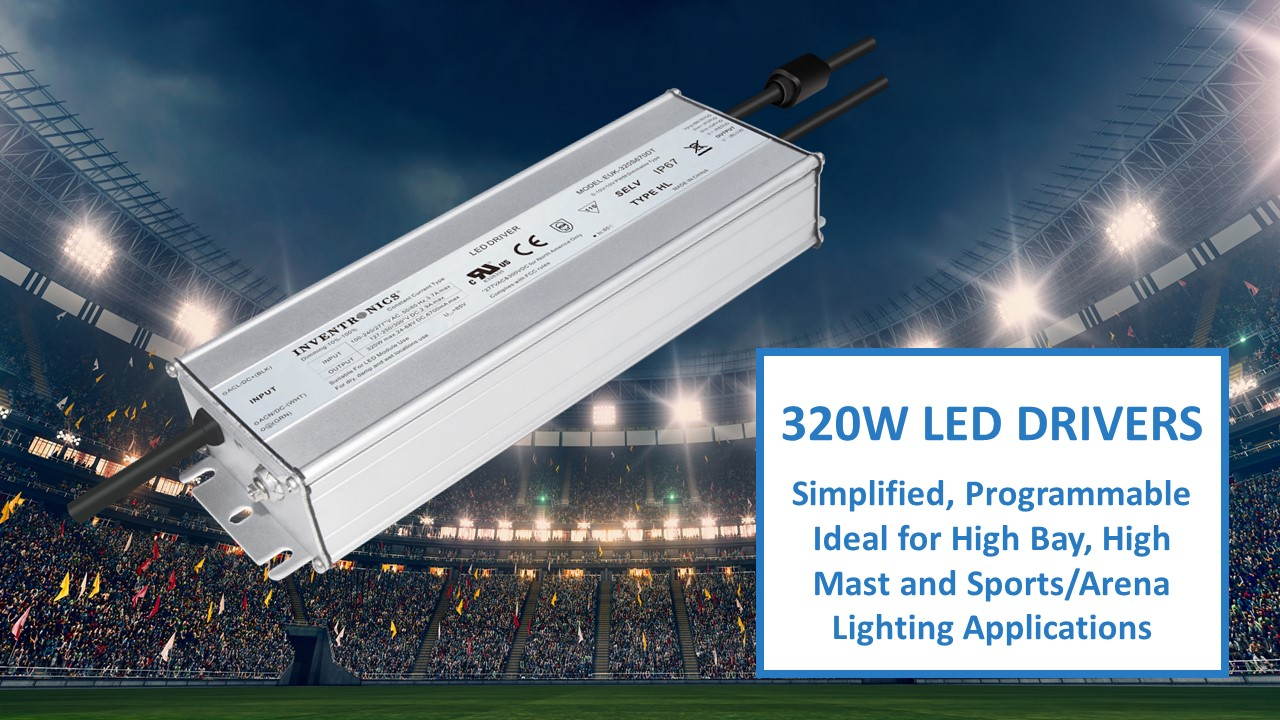 EUK-320W Series Simplified LED Drivers