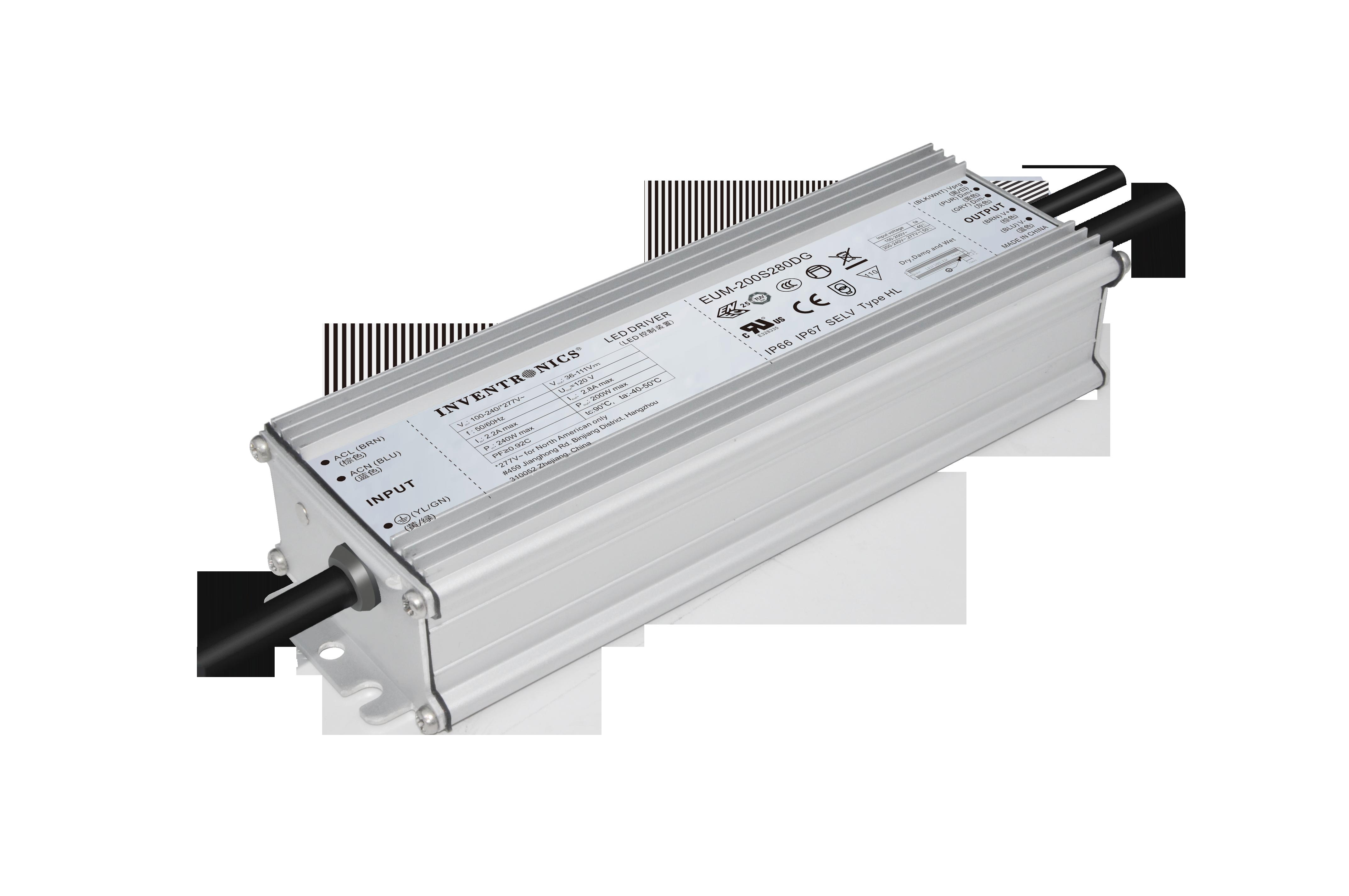 EUM Series Global, IP67 LED Drivers