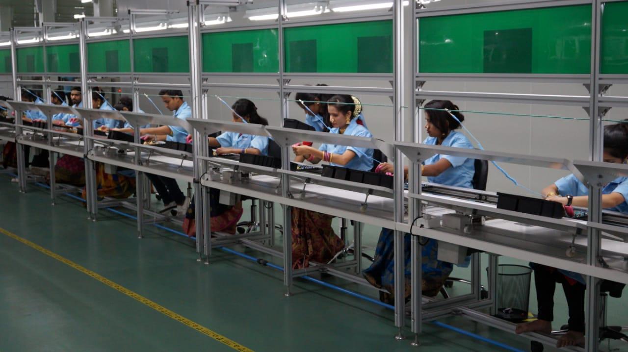India Manufacturing Line